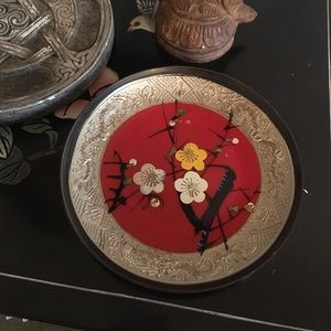 Vintage Plastic Asian Dish